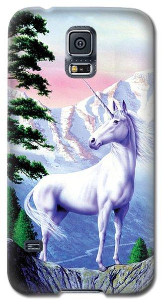 Unicorn The Land That Time Forgot Galaxy S5 Case by Garry Walton