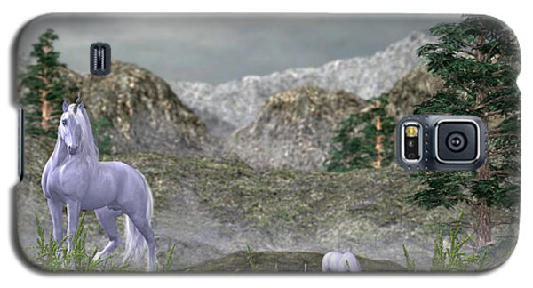 Unicorns In The Mountains Galaxy S5 Case