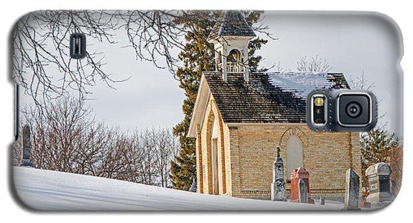 Union Cemetery Chapel Galaxy S5 Case by Susan  McMenamin