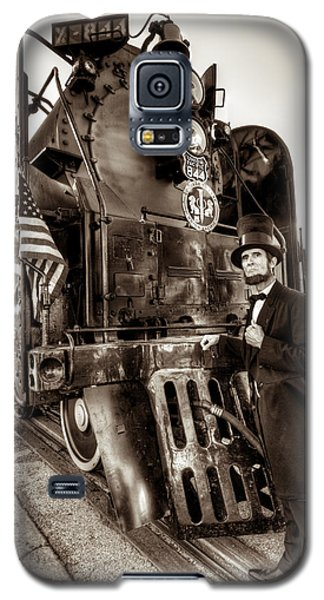 Galaxy S5 Case featuring the photograph Union Pacific 844 by Tim Stanley