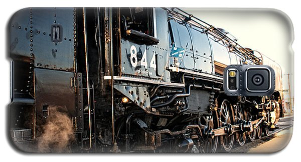 Galaxy S5 Case featuring the photograph Union Pacific Engine #844 by Vinnie Oakes