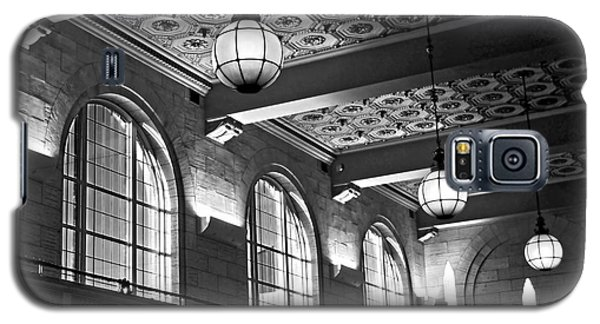 Union Station Balcony - New Haven Galaxy S5 Case by James Aiken