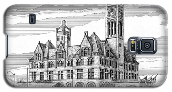 Union Station In Nashville Tn Galaxy S5 Case by Janet King
