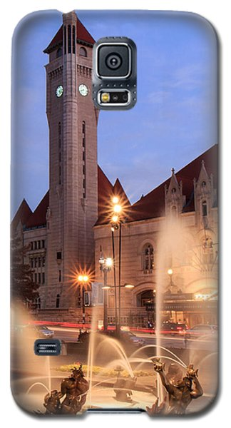 Union Station In Twilight Galaxy S5 Case