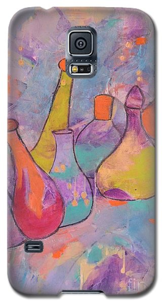 Unique Bottles Galaxy S5 Case by Lyn Olsen
