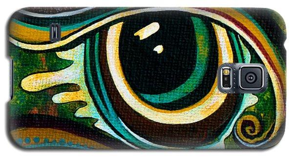 Unique Spirit Eye Galaxy S5 Case by Deborha Kerr