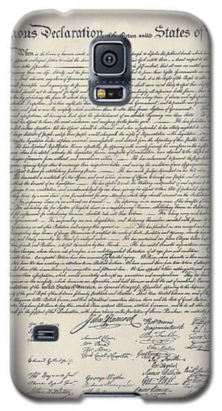 United States Bill Of Rights Galaxy S5 Case
