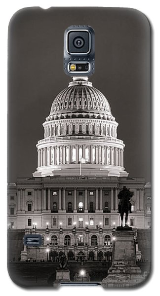 Washington D.c Galaxy S5 Case - United States Capitol At Night by Olivier Le Queinec