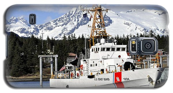 United States Coast Guard Cutter Liberty Galaxy S5 Case by Cathy Mahnke