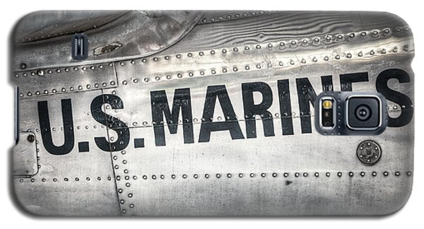 Galaxy S5 Case featuring the photograph United States Marines - Beech C-45h Expeditor by Gary Heller