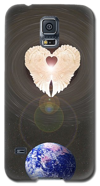 Galaxy S5 Case featuring the photograph Universal Angel by Eric Kempson