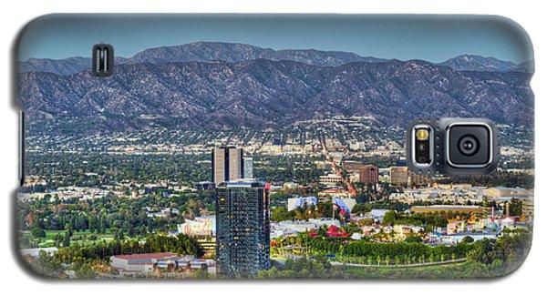 Universal City Warner Bros Studios Clear Day Galaxy S5 Case by David Zanzinger