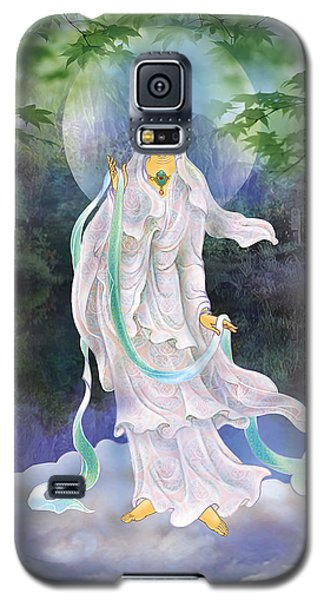 Galaxy S5 Case featuring the photograph Universal Kuan Yin by Lanjee Chee