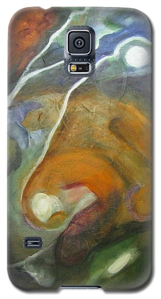 Galaxy S5 Case featuring the painting Universe 3 by Riana Van Staden