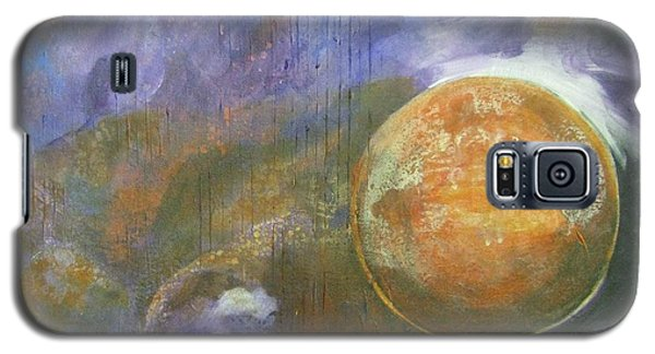 Galaxy S5 Case featuring the mixed media Universe 4 by Riana Van Staden