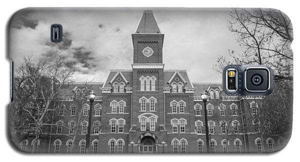 University Hall Black And White Galaxy S5 Case