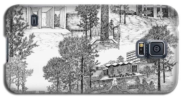 University Of Arkansas Galaxy S5 Case by Liz  Bryant