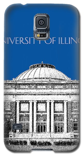 University Of Illinois Foellinger Auditorium - Royal Blue Galaxy S5 Case by DB Artist