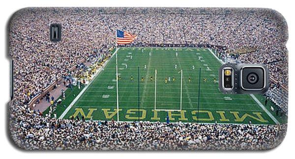 University Of Michigan Football Game Galaxy S5 Case by Panoramic Images