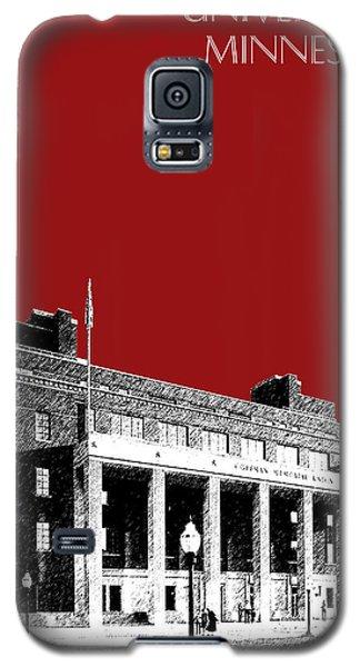 University Of Minnesota - Coffman Union - Dark Red Galaxy S5 Case by DB Artist