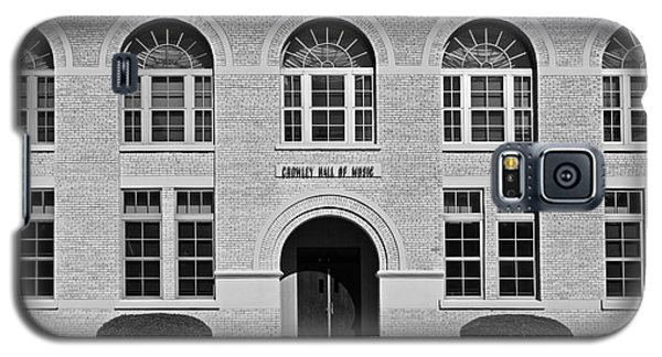 University Of Notre Dame Crowley Hall Of Music Galaxy S5 Case by University Icons