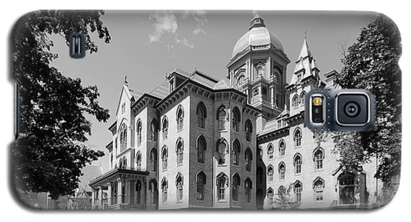 University Of Notre Dame Main Building Galaxy S5 Case by University Icons