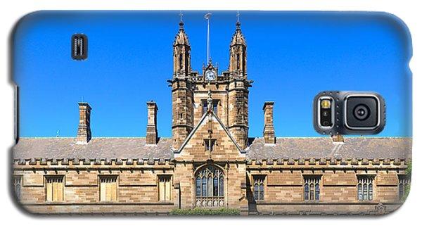 University Quadrangle With Gothic Revival Architecture Galaxy S5 Case