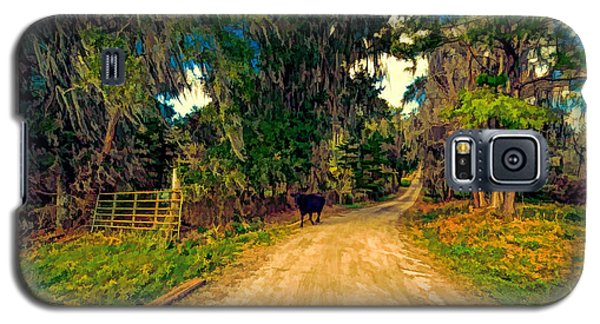 Until The Cow Comes Home Galaxy S5 Case by Lewis Mann