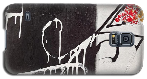 Galaxy S5 Case featuring the painting Untitled # 1 by Jason Williamson