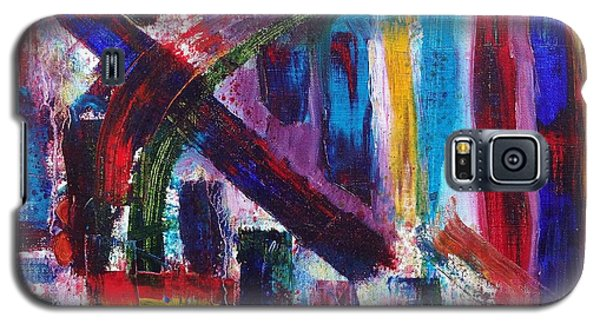 Galaxy S5 Case featuring the painting Untitled # 9 by Jason Williamson