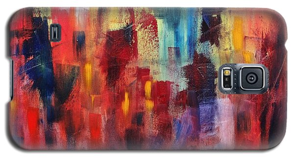 Galaxy S5 Case featuring the painting Untitled #4 by Jason Williamson