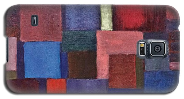 Galaxy S5 Case featuring the painting Untitled #7 by Jason Williamson