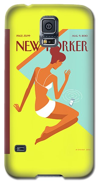 New Yorker August 9th, 2010 Galaxy S5 Case