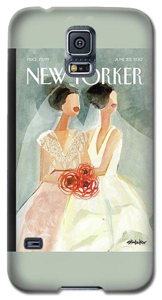 June Brides Galaxy S5 Case