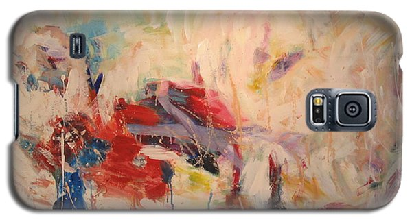 Galaxy S5 Case featuring the painting untitled II by Fereshteh Stoecklein
