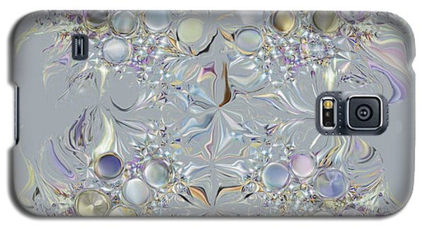 Galaxy S5 Case featuring the digital art Four Point Star by Loxi Sibley