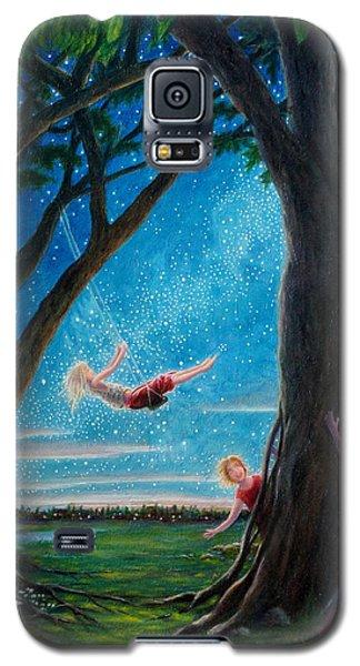 Galaxy S5 Case featuring the painting Innocence  by Matt Konar