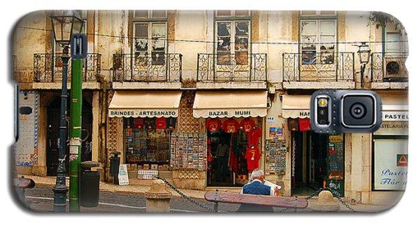 Lisbon Street Scene Galaxy S5 Case