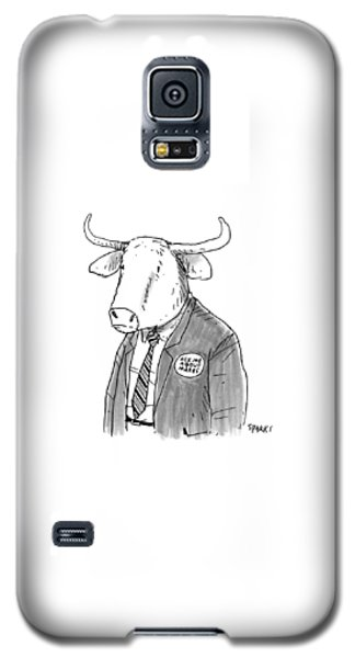 New Yorker October 24th, 2016 Galaxy S5 Case