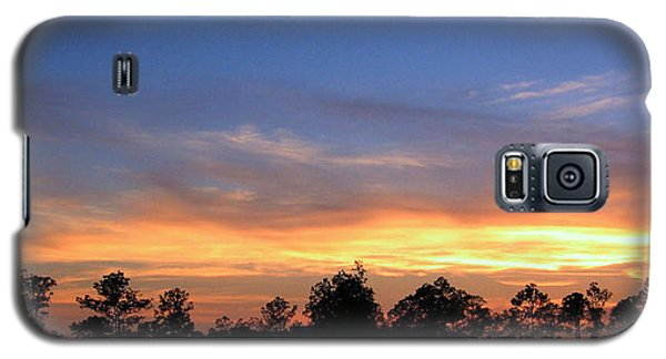 Galaxy S5 Case featuring the photograph Untitled Sunset #36 by Bill Lucas