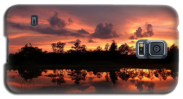 Galaxy S5 Case featuring the photograph Untitled Sunset #37 by Bill Lucas