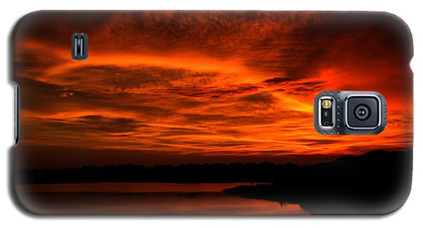 Galaxy S5 Case featuring the photograph Untitled Sunset #38 by Bill Lucas