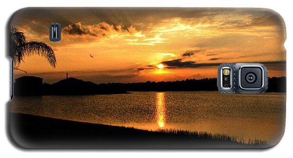 Galaxy S5 Case featuring the photograph Untitled Sunset #41 by Bill Lucas