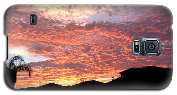Galaxy S5 Case featuring the photograph Untitled Sunset #42 by Bill Lucas