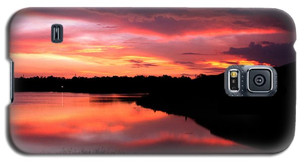 Galaxy S5 Case featuring the photograph Untitled Sunset #45 by Bill Lucas