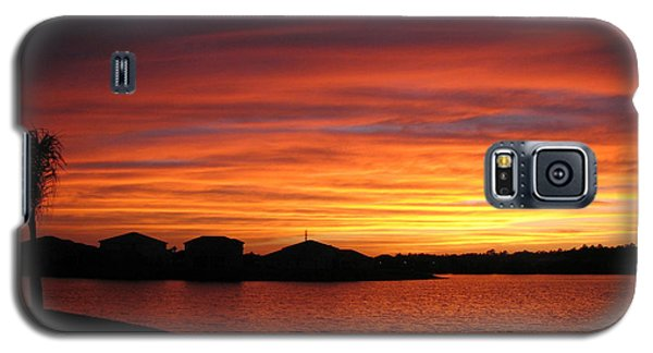 Galaxy S5 Case featuring the photograph Untitled Sunset #46 by Bill Lucas