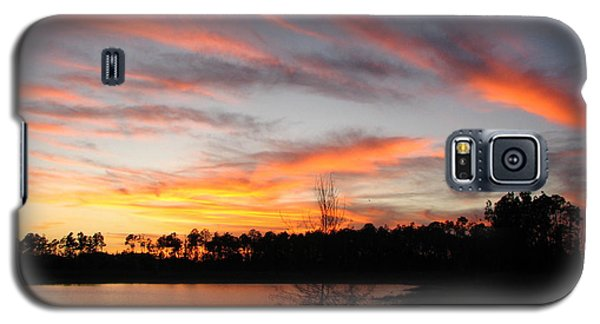 Galaxy S5 Case featuring the photograph Untitled Sunset #47 by Bill Lucas