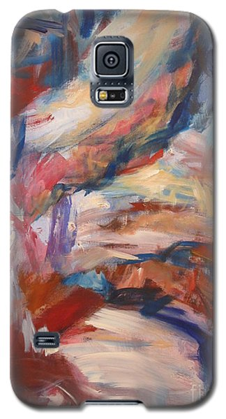 Galaxy S5 Case featuring the painting Untitled V by Fereshteh Stoecklein
