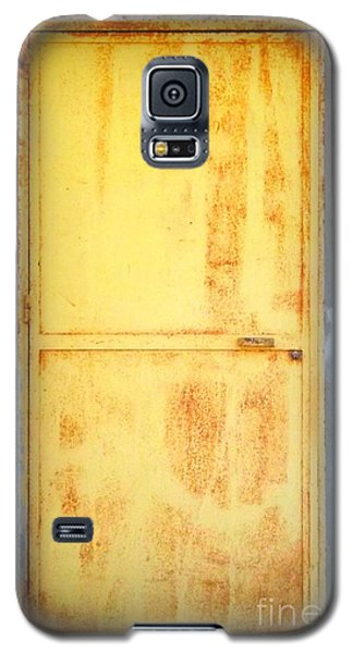 Galaxy S5 Case featuring the photograph Unused Door by Clare Bevan