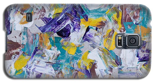 Galaxy S5 Case featuring the painting Unwinding by Heidi Smith